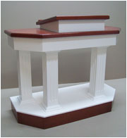 colonial pulpit open design