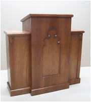 church speaker stand