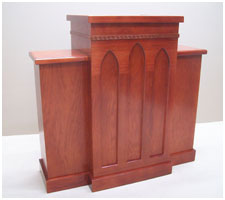 Pulpit wood pulpit